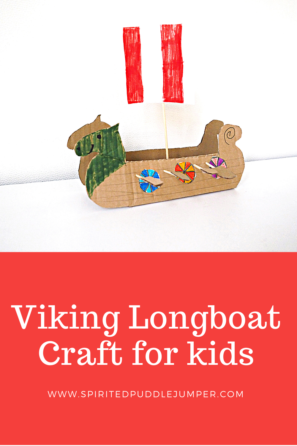 viking longboat craft for kids
