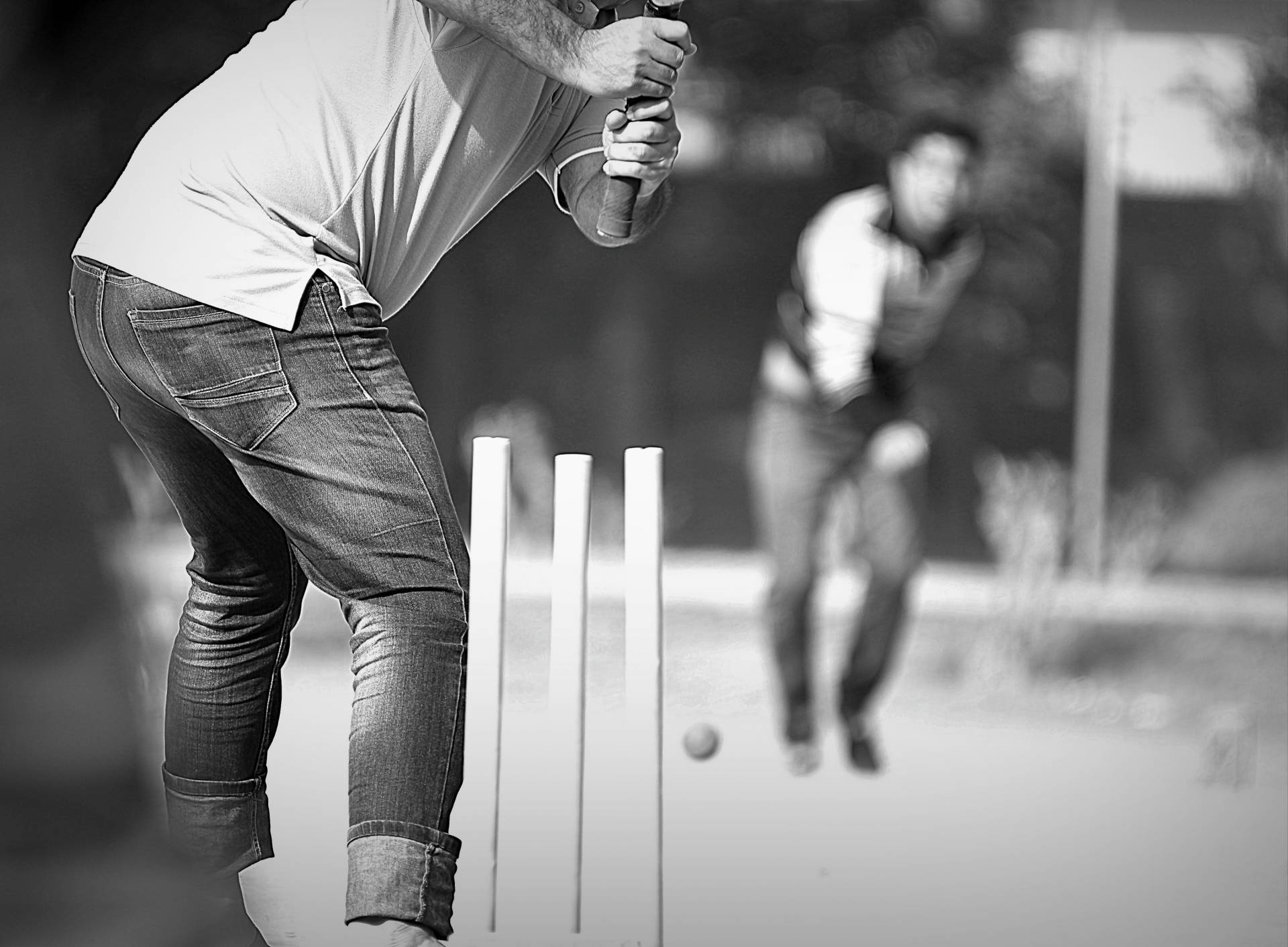 Giving Cricket A Go