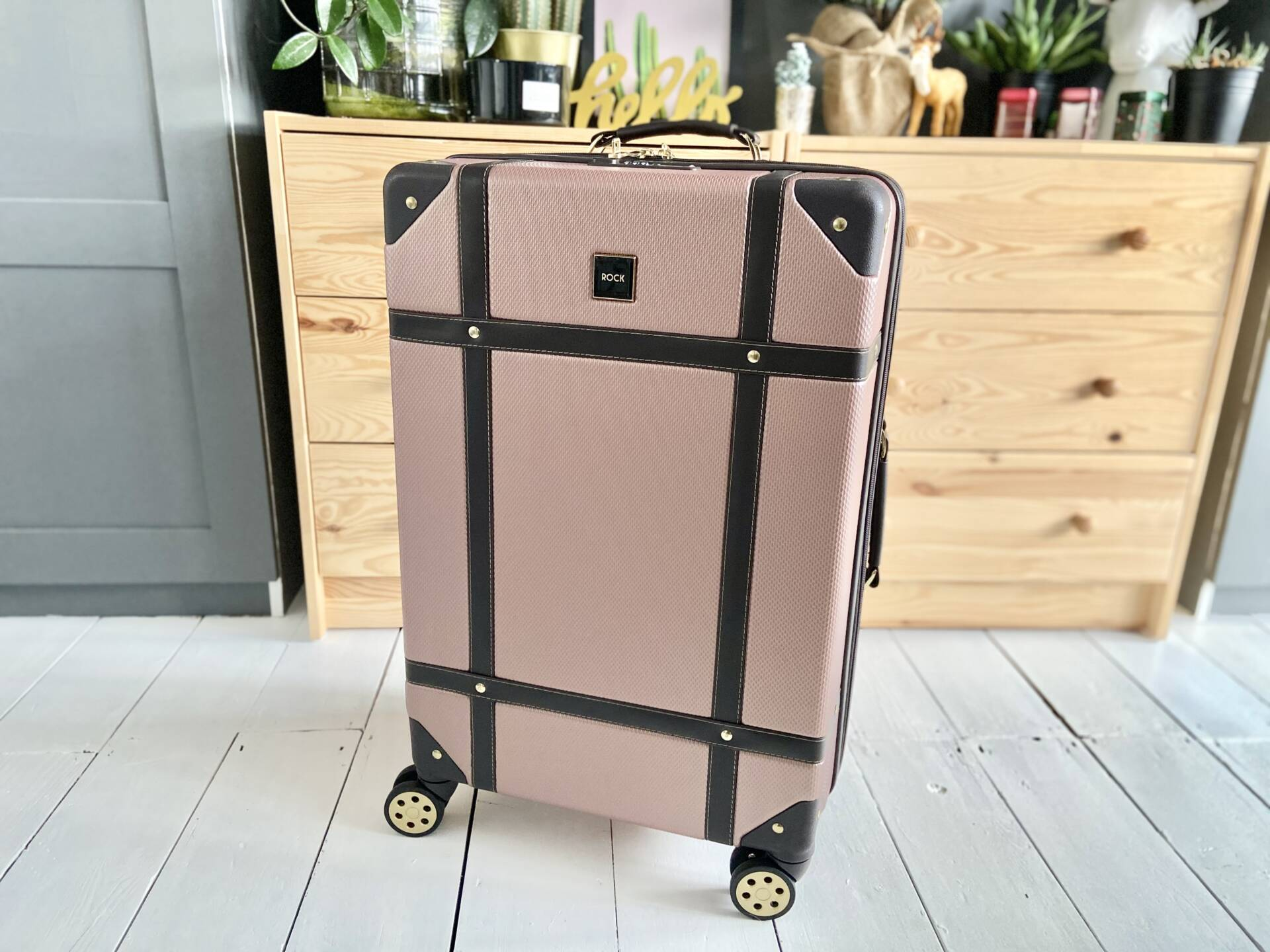 rock luggage suitacase