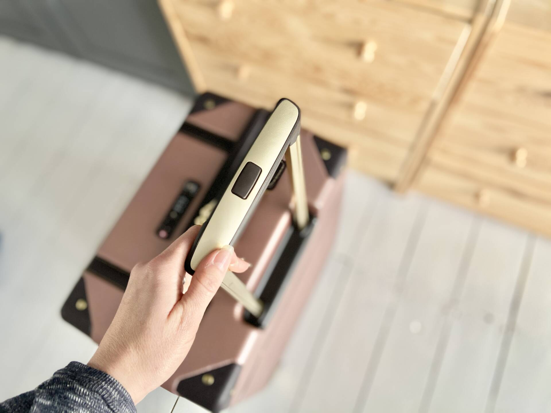 Rock Luggage Vintage Suitcase