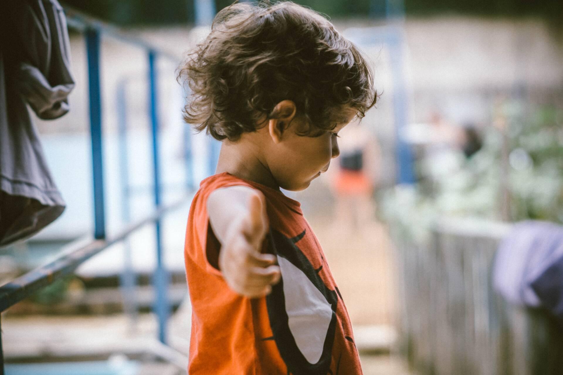 child dancing